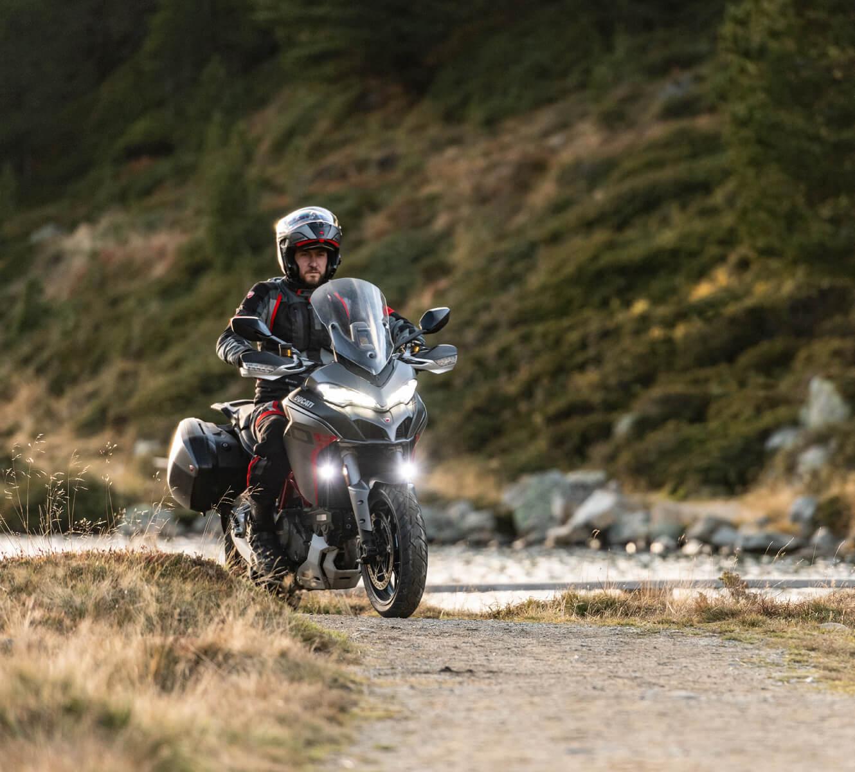 Ducati Multistrada ergonomía