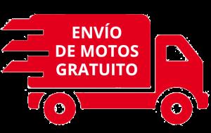 Envío de motos gratuito